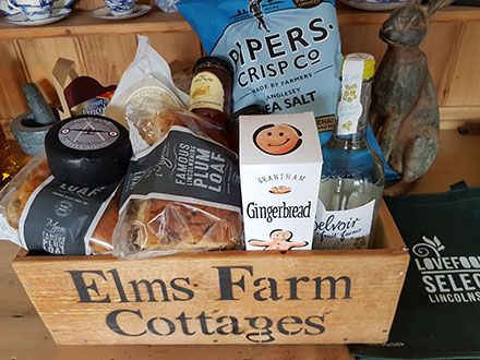 Elms Farm Cottages welcome pack
